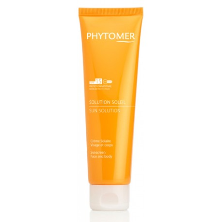 Solution Soleil - Sunscreen SPF 15 Face and Body - Medium Protection
